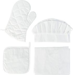 Werbeartikel Küchenset 4-teilig Textil