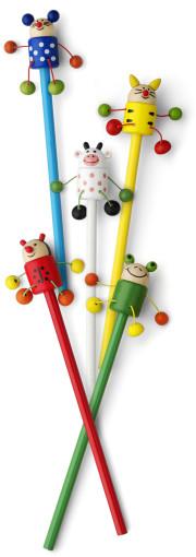 Werbeartikel Bleistift Tierchen