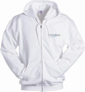 Werbeartikel Gildan Full Zipped Hooded Sweatshirt for Her