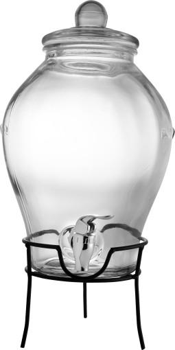 Werbeartikel Getränkespender aus Glas
