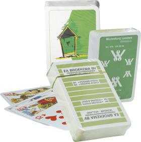 Werbeartikel 52 Klassik Spielkarten in Cellophan