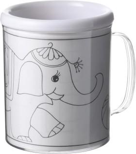Werbeartikel Ausmal-Tasse
