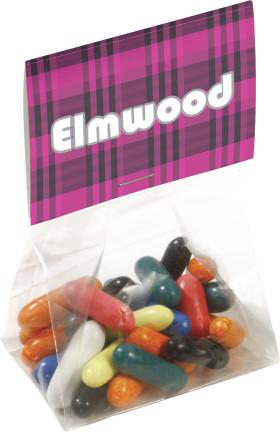 Werbeartikel Tütchen mit Kaugummikugeln