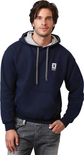 Werbeartikel Gildan Contrasted Kapuzen-Sweatshirt