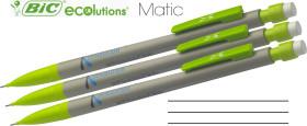 Werbeartikel BIC Ecolutions Matic Druckbleistift