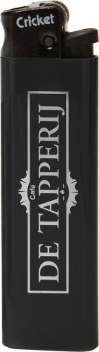 Werbeartikel Cricket Original Feuerzeug mit schwarzer Kappe