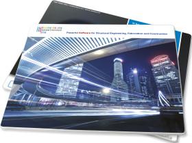 Werbeartikel In Vollfarbe bedrucktes Mousepad