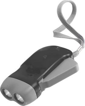 Werbeartikel Dynamo-Taschenlampe