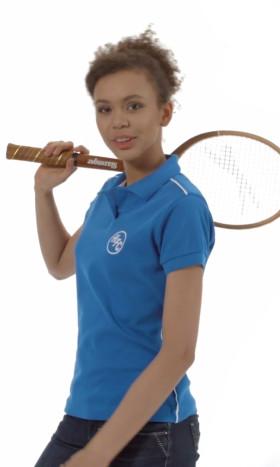 Werbeartikel Slazenger Backhand Damen-Poloshirt