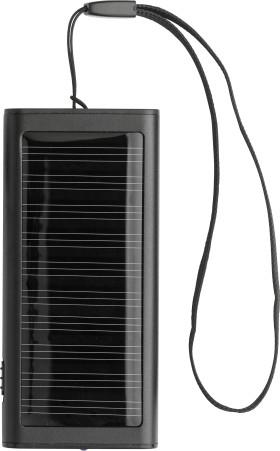 Werbeartikel Solar-Ladegerät Duo
