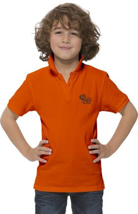 Werbeartikel Elevate Calgary Kinder-Poloshirt