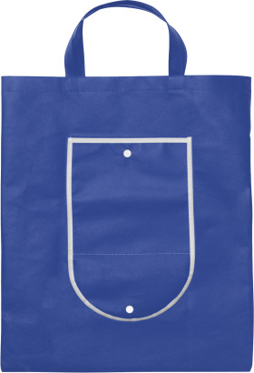 Werbeartikel Faltbare Einkaufstasche aus Vliesmaterial