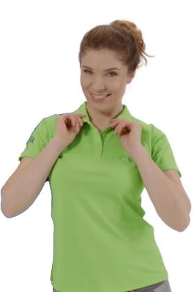 Werbeartikel Damen-Poloshirt Cool Fit