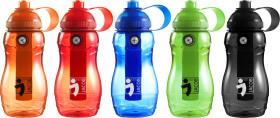 Werbeartikel Trinkflasche mit Kühlelement und Kompass