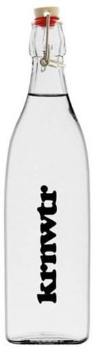 Werbeartikel Bügelflasche KRNWTR 1 Liter