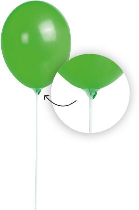 Werbeartikel Ballonstab mit Halterung